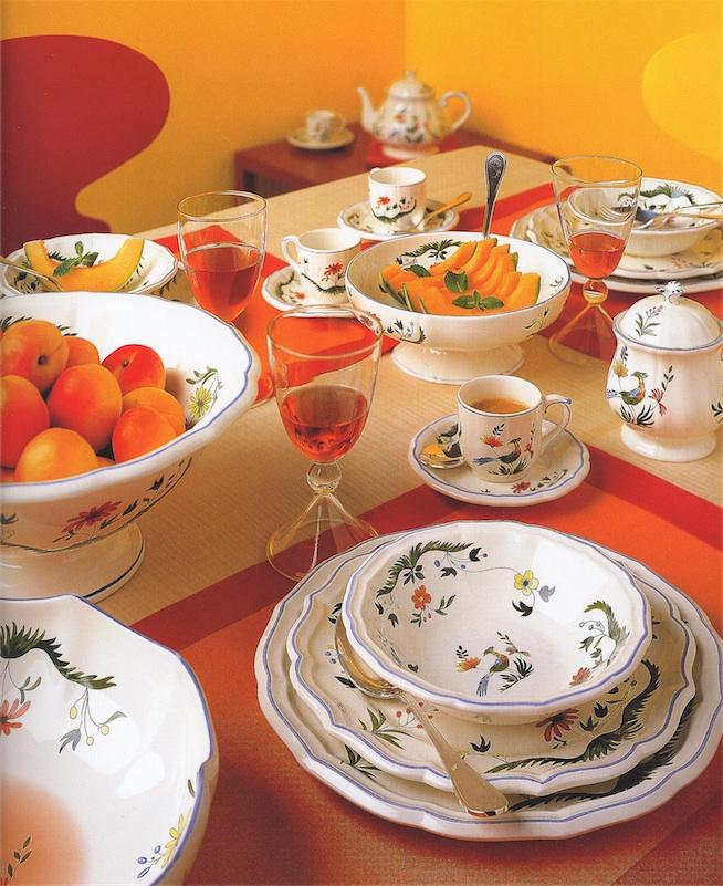 Photo Gallery Gien dinnerware. & Gien earthenware tableware. - Miguel watches jewelry