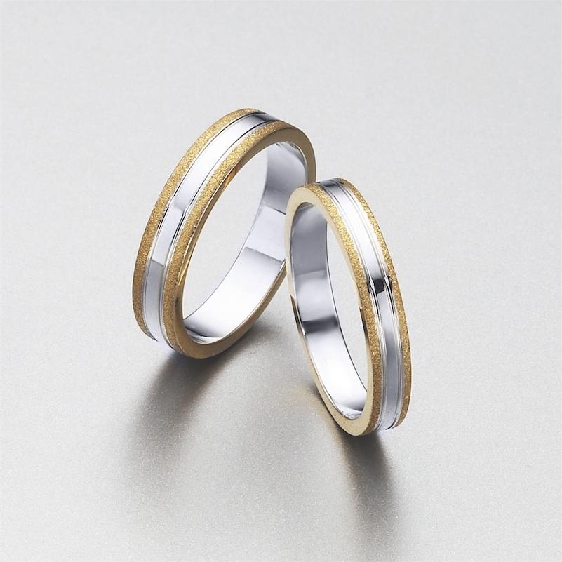 e6903c542632 ELEKA  alianzas de bodas personalizadas en oro y diamantes.