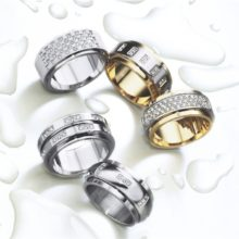 Sets of rings with diamonds of LK