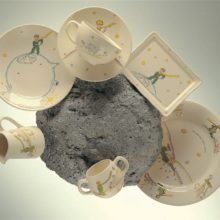 Plates and cups & quot; Le Petit Prince & quot;, gien (The little Prince)