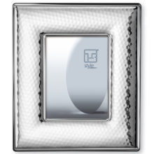 """Modern style wide cane silver frame, terminated & quot; chopped"""""""