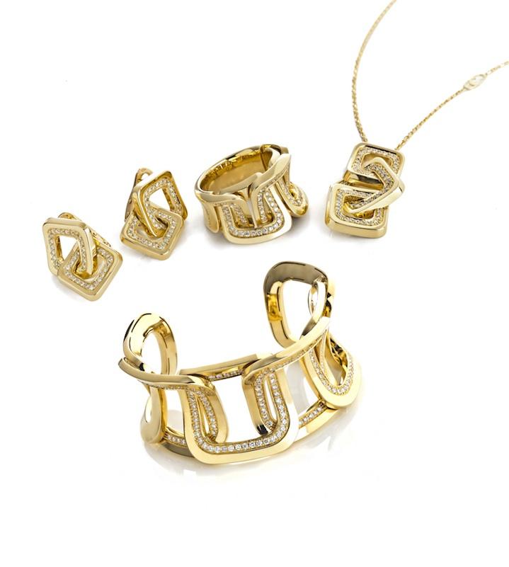 5a1aa106e4b4 Modelo Diana de joyas en oro de Chimento