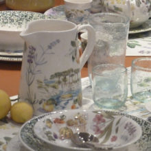 Set of coffee and Valerie tableware