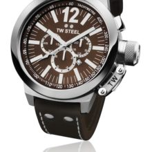 Tw Steel CEO watch ref. CE 1012 in steel and chocolate sphere