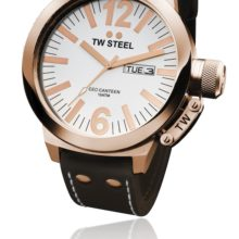 Tw Steel CEO watch ref. CE 1018 steel plated in rose and White Dial (three needles)