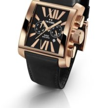 Tw Steel Goliath watch ref. CE3012 steel plated rose gold and black dial
