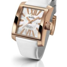 Tw Steel Goliath watch ref. CE3016 steel plated rose gold and mother of Pearl Dial