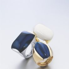 LK Electra rings in gold of 18 carats