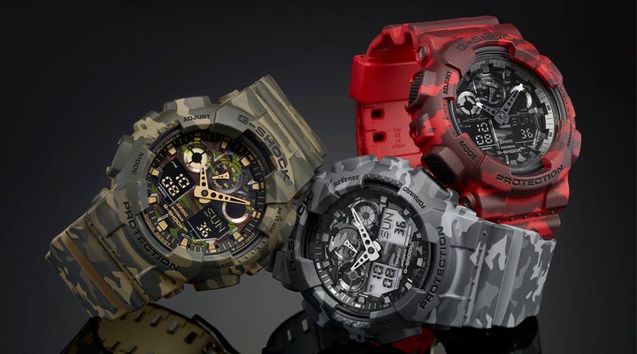 f154e8004813 Imagen de relojes Casio G-Shock estilo militar