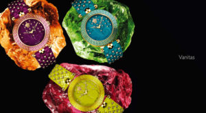 Vanitas Versace watches photo presentation