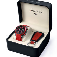 Special for Viceroy Fernando Alonso clock box, with Keychain-gift 47935-57D1