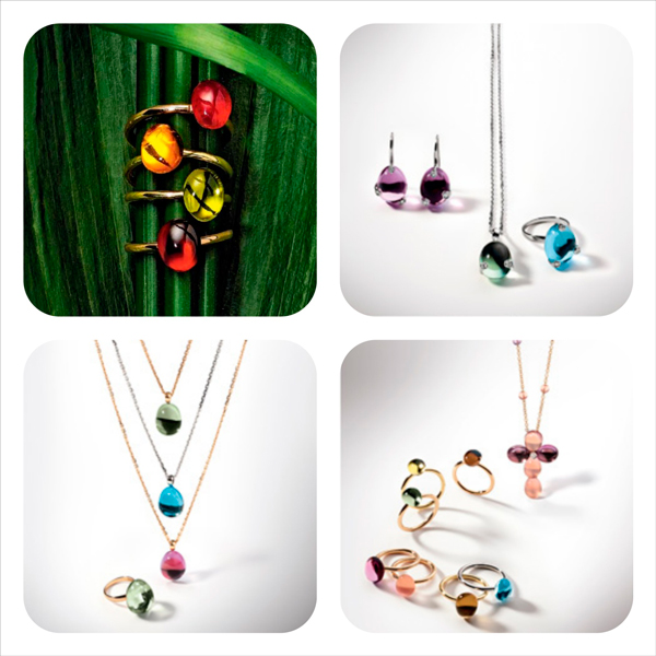 Selección de joyas de la colección Meteore de Superoro