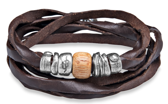 125eb581e9e9 PlatadePalo  pulseras y joyas en plata y cuero. - Joyería Miguel ...