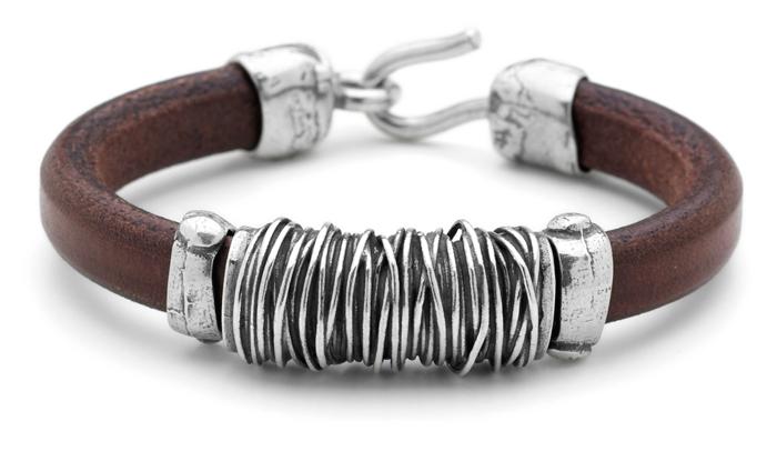 ea110d9233ef PlatadePalo  pulseras y joyas en plata y cuero. - Joyería Miguel ...