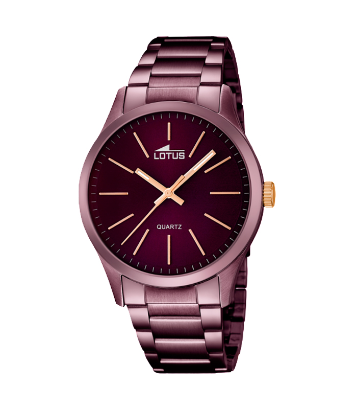 e61e62223aac Reloj Lotus Smart Casual de hombre en color cereza