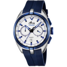 Lotus watch man & quot; Smart Casual & quot;, with chronograph, with blue strap 18189-1