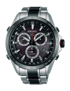 Watch Seiko Astron steel and ceramic SSE029j1
