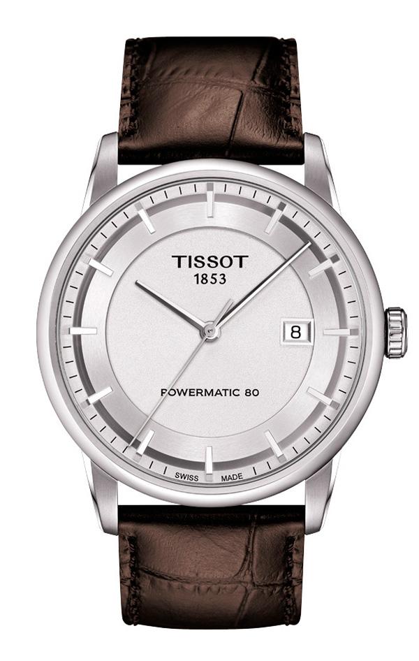 7598c753bd90 Reloj Tissot Luxury para hombre con máquina Powermatic 80 T086 407 16 031 00