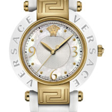 Watch Versace Reve, with white silicone, mother-of-Pearl 92QCP1D497-S001