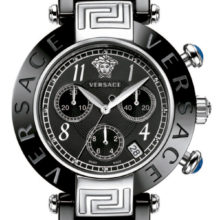 Versace Reve Black ceramic watch, Chronograph 95CCS9D008-SC09