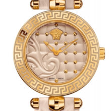 Watch Versace Vanitas Mini beige, Golden VQM04-0015