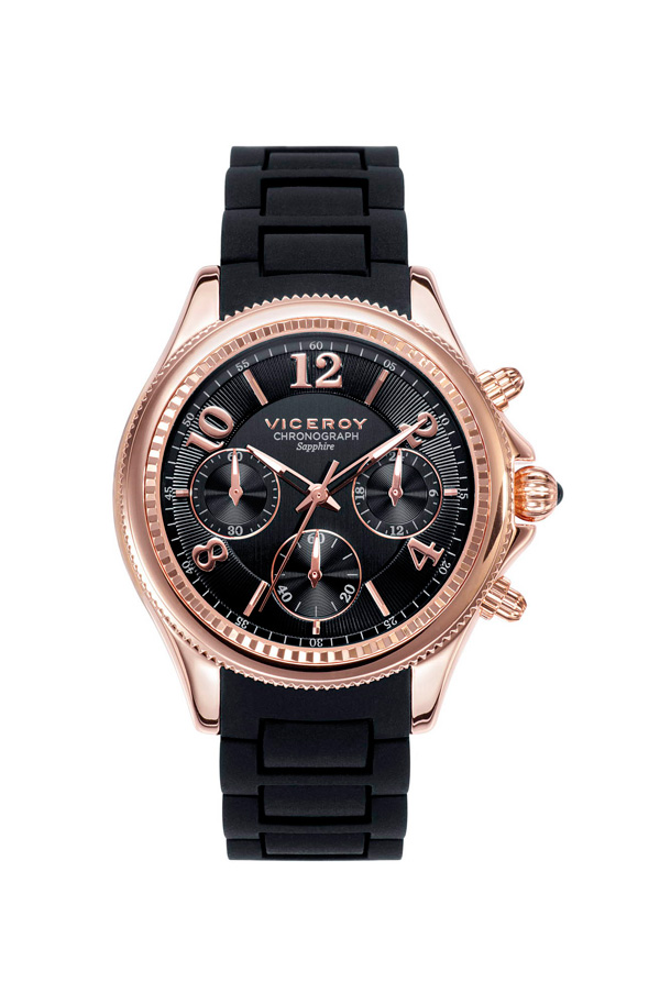 Viceroy relojes mujer acero rosa