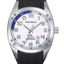 Watch Real Madrid Viceroy 3 needles, rubber strap 432604-05