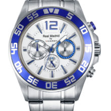 Viceory Real Madrid man chronograph steel watch, latest version 432861-05
