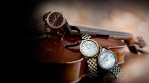 Cabecera de los relojes Raymond Weil Toccata