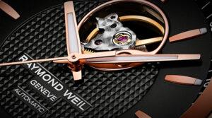 Cabecera de relojes Raymond Weil Freelancer