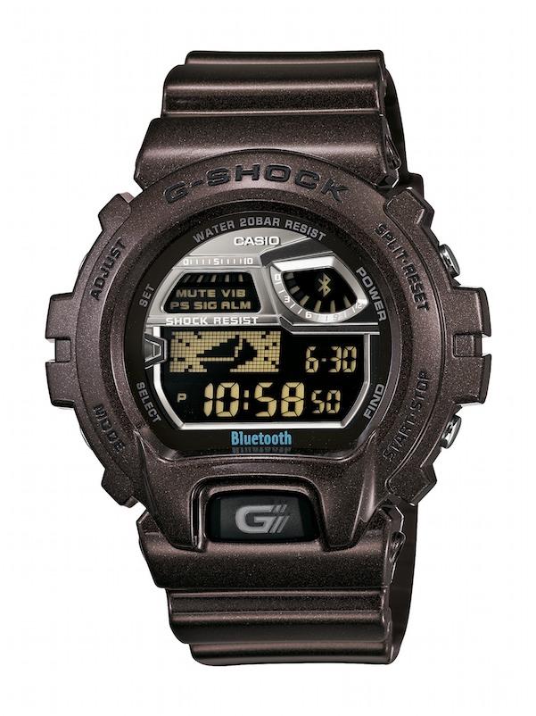 Reloj Casio G-Shock Bluetooth: conecta tu móvil con tu reloj.