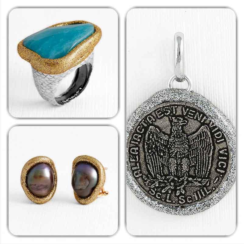 Nueva colección de anillos en plata de Maj Joyeros.