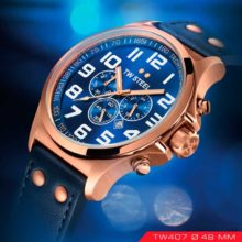 TW Steel Pilot TW407 in plating PVD rose gold