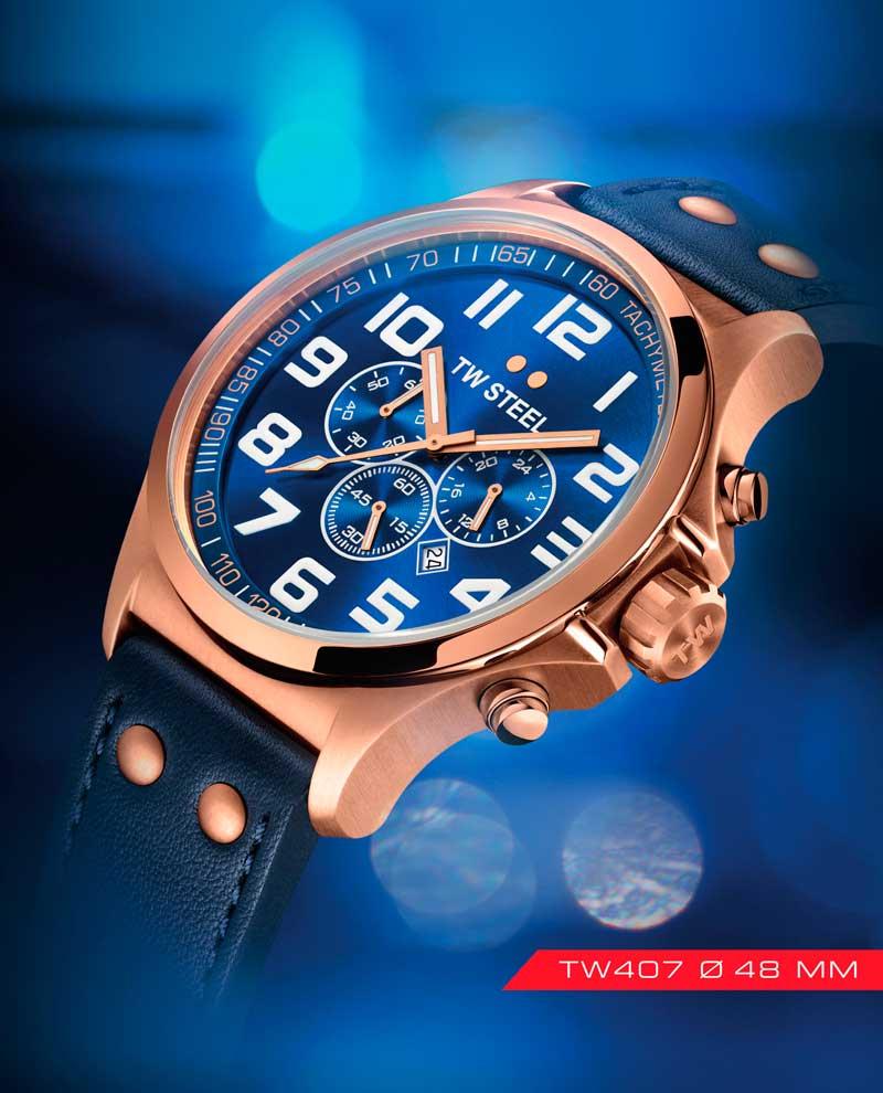 Tw Steel destaca con la colección de relojes «Pilot»