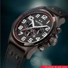 Tw Steel TW423 watch in black chronograph