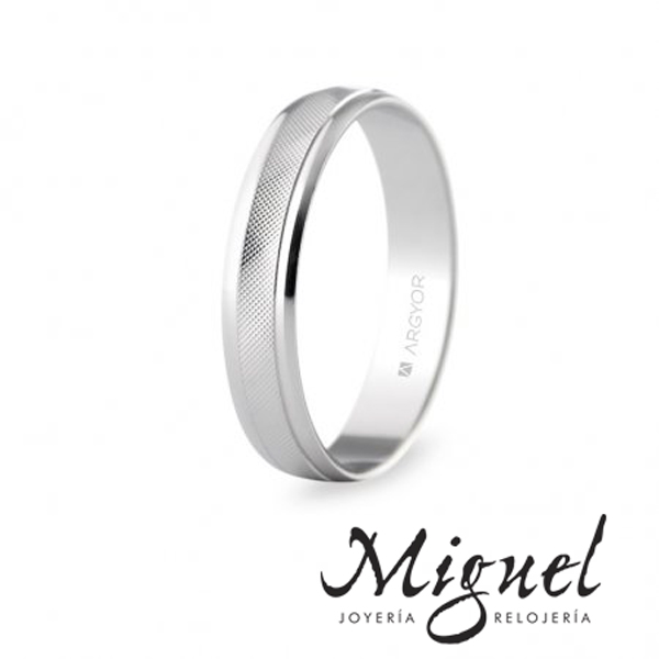 705d1d46511b Argyor  alianzas de bodas en oro. - Joyería Miguel Relojería