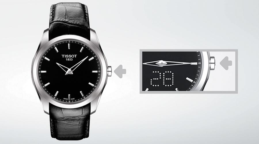 El diseño sencillo y atemporal de los relojes Tissot Couturier.