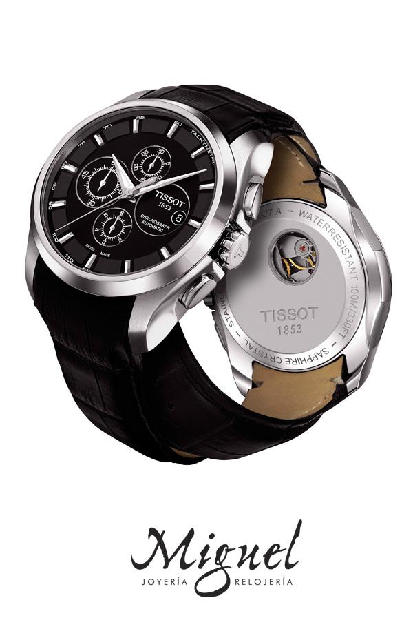 El diseño sencillo y atemporal de los relojes Tissot Couturier
