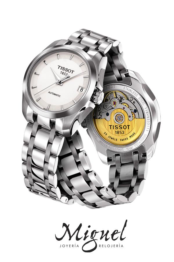 relojes suizos tissot