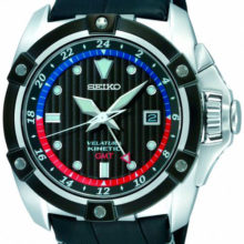Reloj Seiko Kinetic con GMT