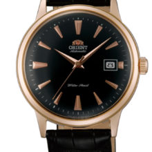 Orient Automatic Men's watch, classic style gold red gold