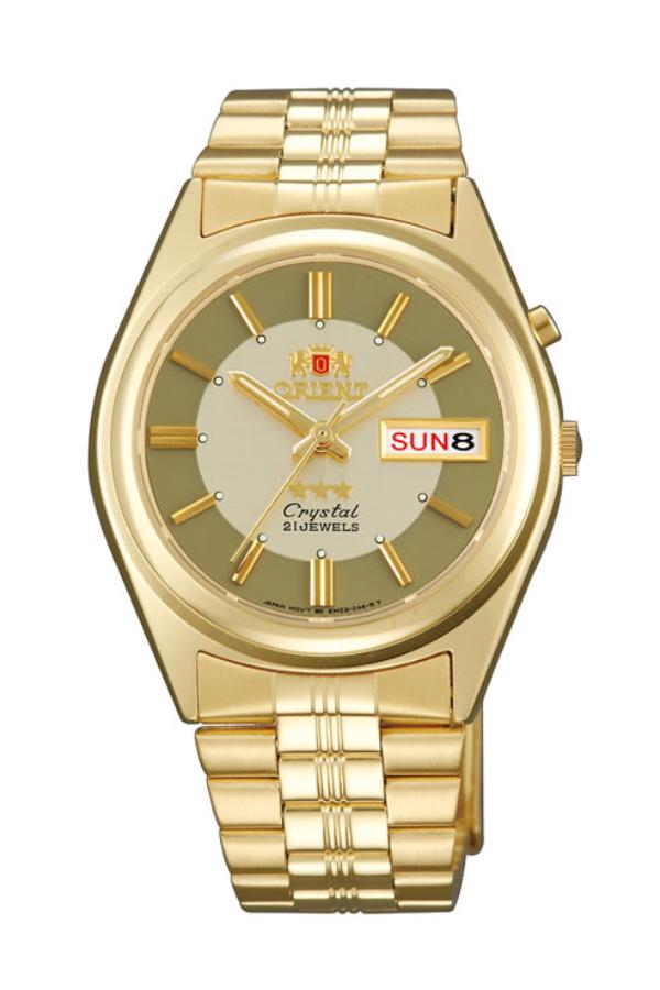 Reloj Orient automático de hombre de estilo retro o vintage, en dorado ref. EM6Q00AC