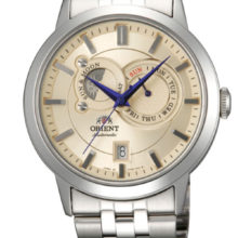 Watch automatic Orient mens steel ET0P002W full calendar
