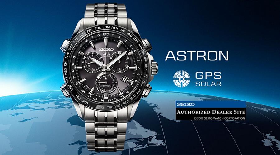Lo más exclusivo de Seiko: los relojes Astron GPS Solar.