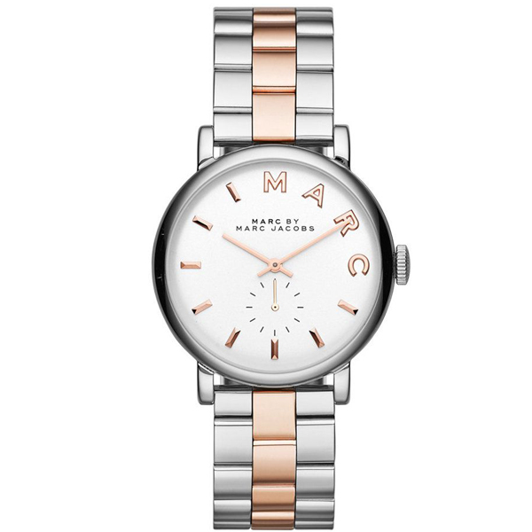 4471802ffc9af Watch Marc by Marc Jacobs ladies rose gold two-tone steel