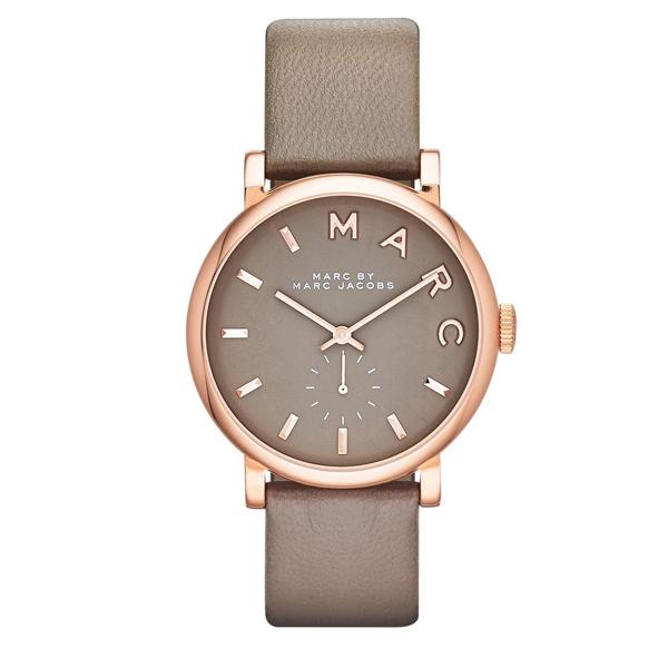 80d47403fe51 Reloj Marc by Marc Jacobs de mujer dorado en oro rosa y correa de piel  mbm1266