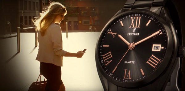 Reloj Festina de mujer Boyfriend gris, anunciados en televisión