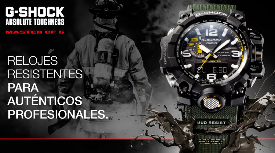 5a9048d95a2f Official distributor of watches Casio G-Shock Premiun Mudmaster. - Miguel  watches jewelry