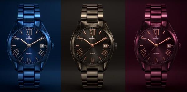 Relojes Festina mujer Boyfriend, en colores, anunciados en televisión