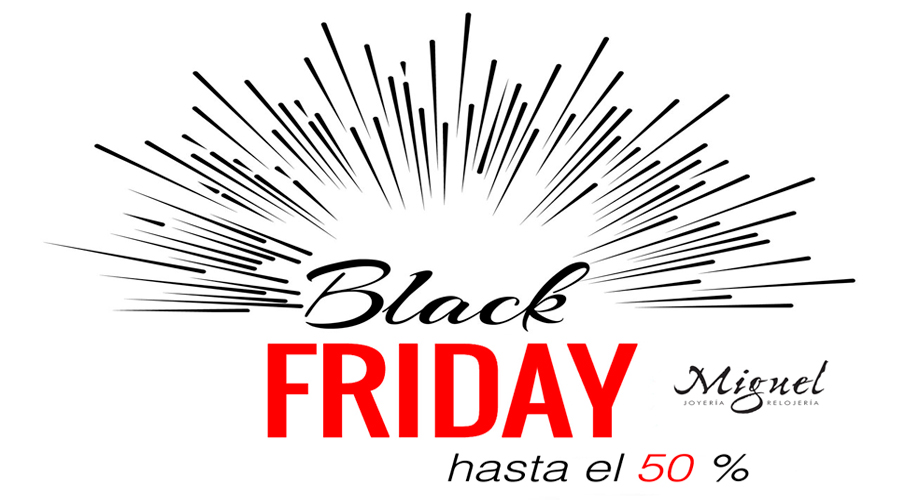 Don't you miss the Black Friday in our store online.